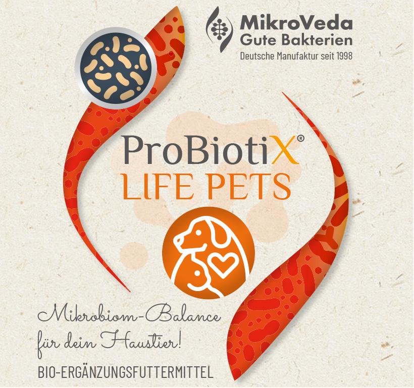 ProBiotiX LIFE PETS Bio Ergänzungsfuttermittel