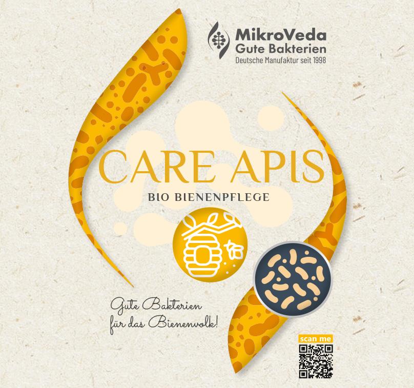 MikroVeda CARE APIS Bio Beuten- und Bienenpflege 1 Liter R-PET Flasche (100% recycelt)