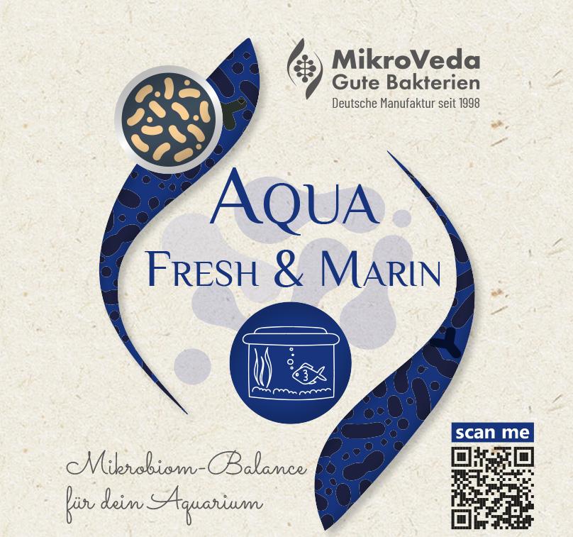 MikroVeda AQUA FRESH & MARIN Bio für Aquakulturen