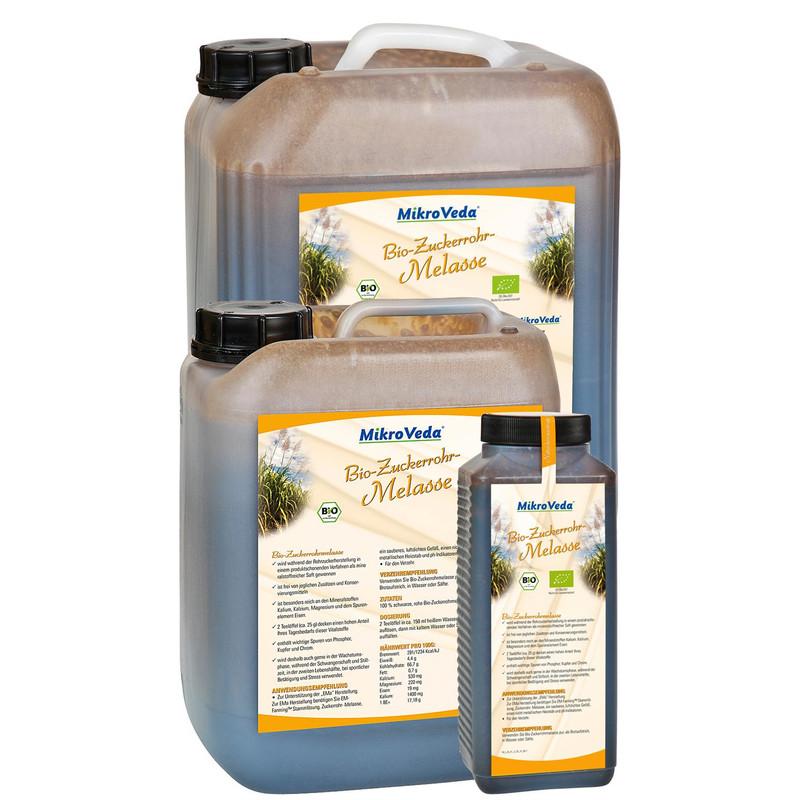 MikroVeda Bio Zuckerrohrmelasse im 5 Liter Kanister