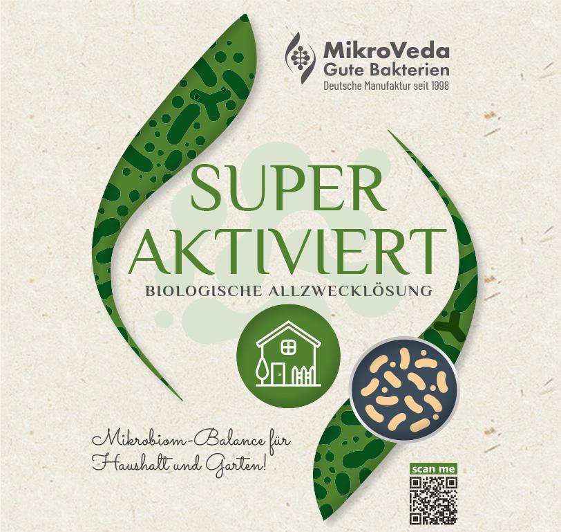MikroVeda SUPERAKTIVIERT Bio